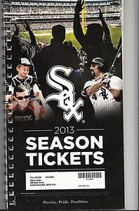 2013 CHICAGO WHITE SOX SEASON TICKET BOOK STUB SET ALL 81 GAMES