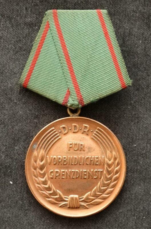 GDR Dgp - Kvp Exemplary Border Service, 1.Ausführung, With Award Number