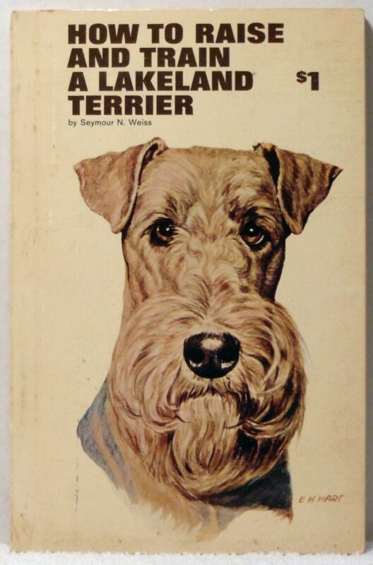 1966 HOW TO RAISE & TRAIN A LAKELAND TERRIER Weiss Dog Care Training  Puppy