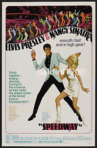 ELVIS-PRESLEY-SPEEDWAY-HIGH-QUALITY-VINTAGE-MOVIE-MUSIC-POSTER