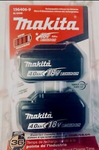 BRAND NEW UNOPENED MIKITA 4Ah 18V DOUBLE PACK