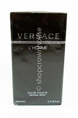 Verasce L'Homme Eau De Toilette Men's Cologne Spray 3.4 fl oz NIB sealed