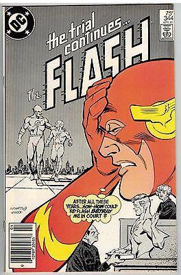 THE FLASH #344 1985 ORIGIN KID FLASH DC COPPER AGE!