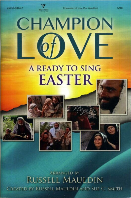 Champion of Love (Ready to Sing) (Choral Book)