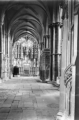 1910s ELY #2 Cathedral Antique Photographic Glass Negative (Cambridgeshire)