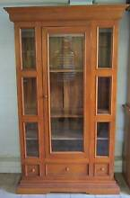 DISPLAY CABINET SOLID TIMBER CAN ARRANGE DELIVERY Aspley Brisbane North East Preview