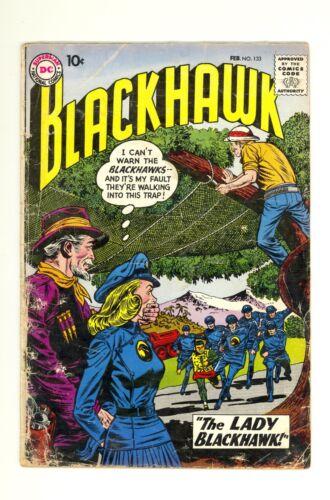 Blackhawk #133 2.0 (Cream Pages) Good 1st appearance of Lady Blackhawk