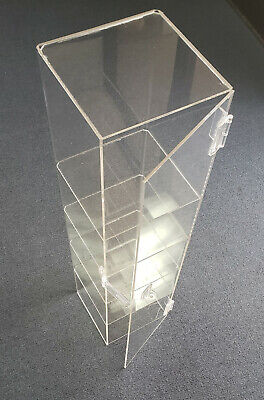 Acrylic Countertop Display Case 6lx6.25wx24.25h Clear Convenience Store Display