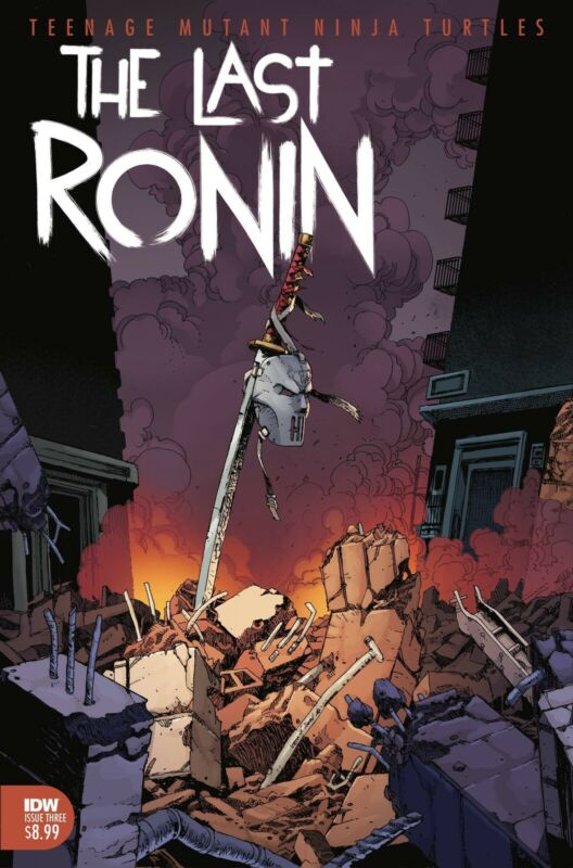 🚨🐢 TMNT THE LAST RONIN #3 Main Cover NM Gemini Shipping