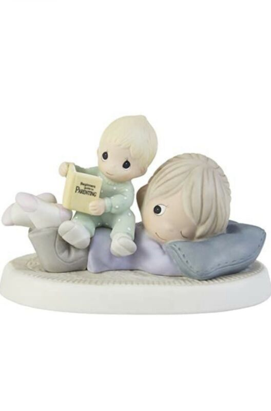 Precious Moments 203013 The Toughest Job You'll Ever Love Porcelain Figurine