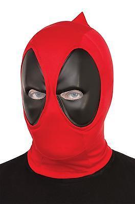 Erwachsene Marvel X-Men Deadpool Assassin Stoff Maske Kostüm Zubehör RU68850 (Deadpool Kostüme Zubehör)