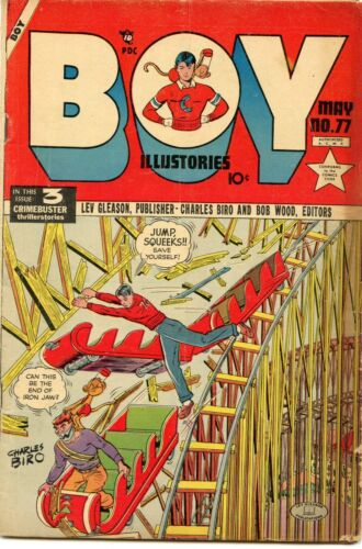 Boy Comics #77 Comic Book VG 4.0 Lev Gleason 1952