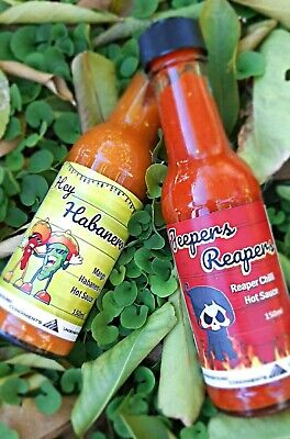 Jeepers Reapers Carolina Reaper Hot Sauce