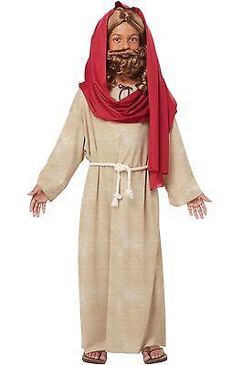 Holy Bible Biblical Jesus Child Costume Religious Christmas Nativity - Child Nativity Costumes
