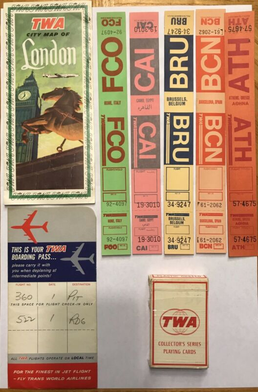 Trans World Airlines Collection (Set of 9)