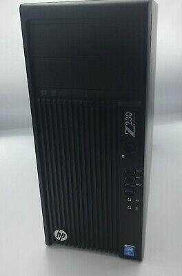 i7 GAMING DESKTOP PC HP Z230i7 GTX 750 16GB RAM Samsung 1TB SSD + 1TB HD WPro10