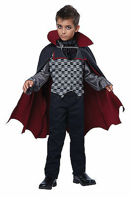 Count Bloodfiend Dracula Vampire Boys Child - Vampire Costumes Boys