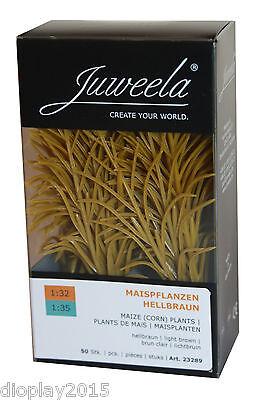 Neu Juweela® Maispflanzen braun 1:32/35 Modellbau Diorama, Landwirtschaft 23289