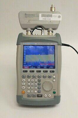 Rohde Schwarz Fsh6 Handheld Spectrum Analyzer 100 Khz To 6 Ghz W Fsh-z2 Vswr