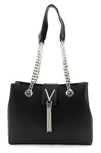 VALENTINO Divina Lady Shoulder Bag S Tasche Schultertasche Damen Schwarz Nero