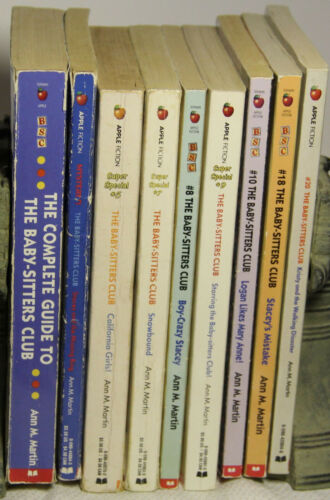 Scholastic Home School Series readers The Baby Sitters Club mystery lot of 9