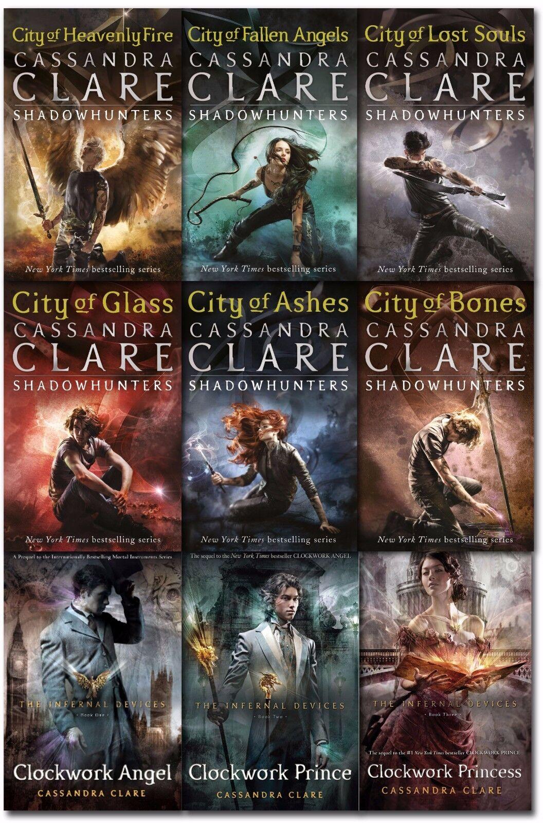 Details Sur Cassandra Clare Mortal Instruments Infernal Devices Collection 9 Books Set New