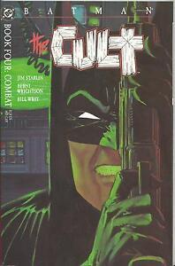 BATMAN: THE CULT #4 (OF 4) (DC) PRESTIGE FORMAT (1988) WRIGHTSON ART