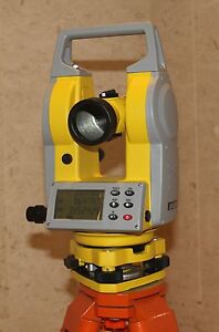 "Dual Face Electronic Theodolite 2"" Accuracy"