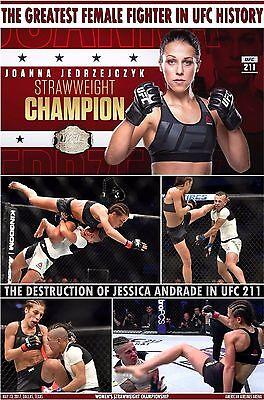JOANNA JEDRZEJCZYK - BEST-EVER FEMALE UFC FIGHTER