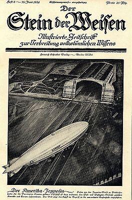 Amerika-Zeppelin (US-Navy) der Zeppelin-Werft zu Friedrichshaven 1924