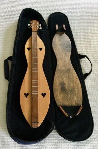 McSpadden GINGER Dulcimer with Possum board and Case EXCELLENT Condition