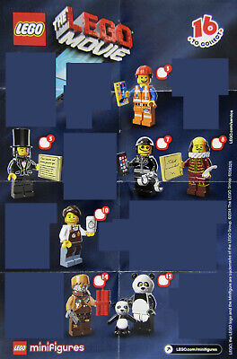 LEGO 71004 Minifigure Series: The Lego Movie - PICK CHOOSE - NEW factory sealed