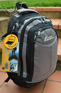 GREY-CAMEL-MOUNTAIN-15-16-BACKPACK-NOTEBOOK-LAPTOP-BAGS-BOOK-BAGS-TRAVEL-BAG