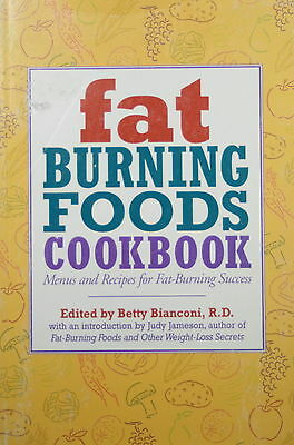 FAT BURNING FOODS COOKBOOK * PAPERBACK * BY BETTY BIANCONI & JUDY