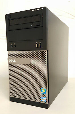 Dell Optiplex 390 Desktop (Intel Core i5 2400 3.10Ghz 4GB RAM, 500GB) Win7 COA
