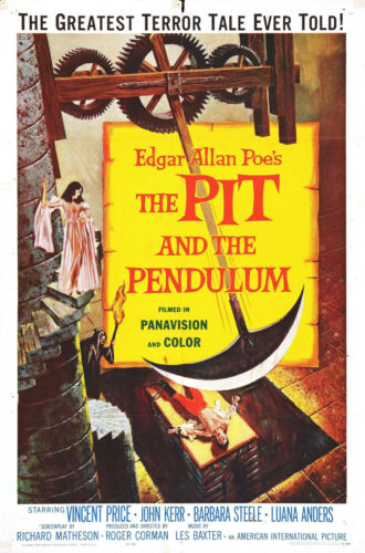 PIT AND THE PENDULUM-ENG 16MM PRINT COLOR