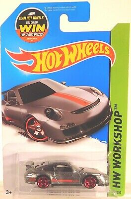 2015 HOT WHEELS ZAMAC PORSCHE 911 GT3 RS
