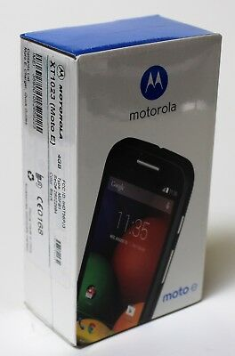 Motorola Moto E XT1023 Black (Unlocked) GSM Android AT&T Mobile Brand New in Box