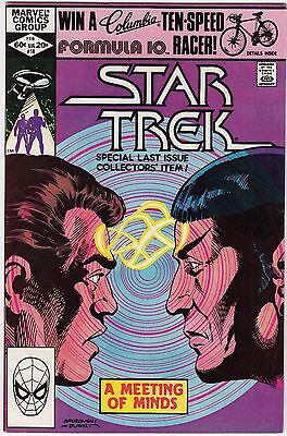 Star Trek  18 F  Low Print Run  Last Issue  Direct Edition  Marvel Comics 1982