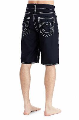 Flap Pocket Boardshorts - True Religion Men's Ricky Big T w/Flap Pocket Boardshorts Swimwear sz.36 NWT $99