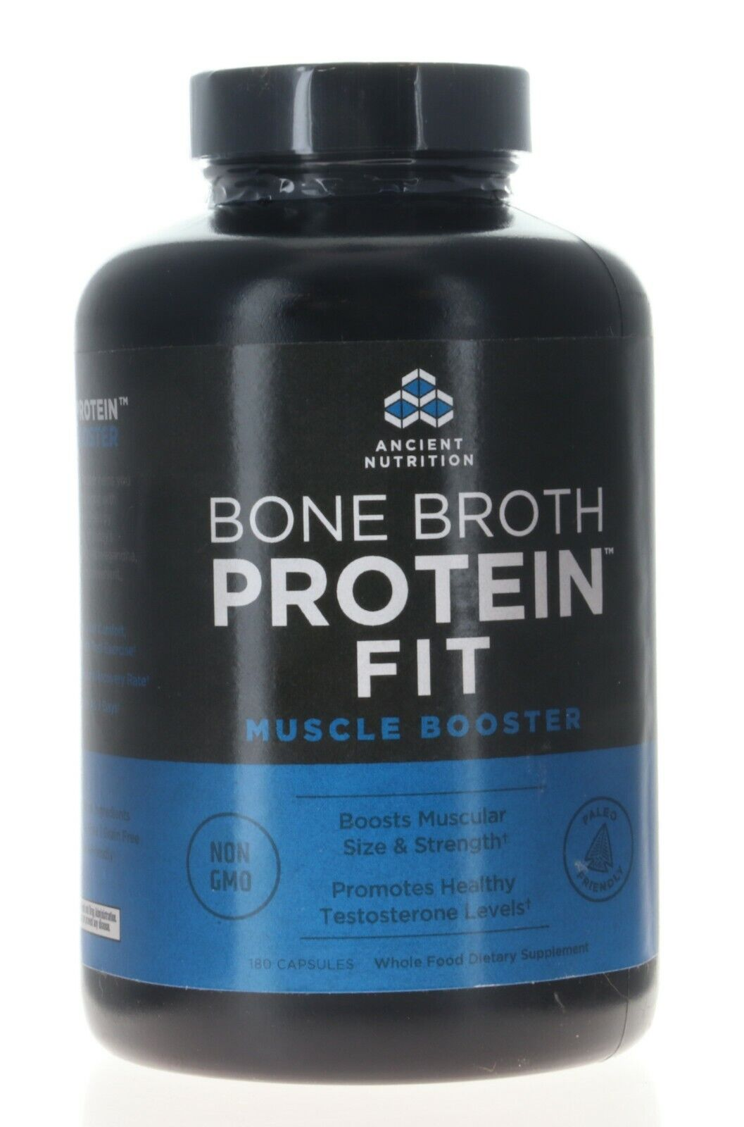 Ancient Nutrition Bone Broth Protein Fit Muscle Booster 180