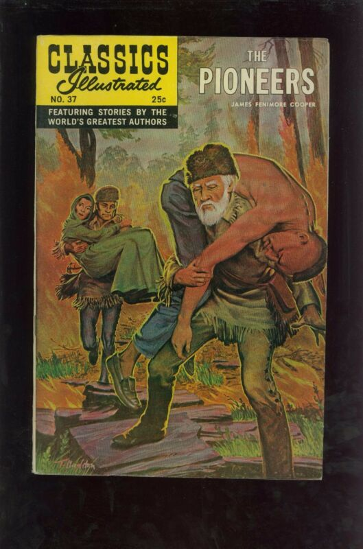 Classics Illustrated #37 HRN166 - The Pioneers - Large Scans