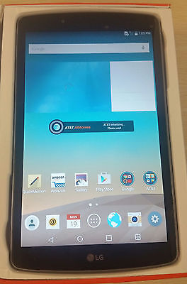 LG G Pad F 8.0 16GB 4G AT&T Unlocked GSM Android Tablet New