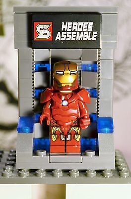 Marvel Super heroes Iron-Man Suit Chamber Marvel Super heroes Avengers - Kids Iron Man Suit