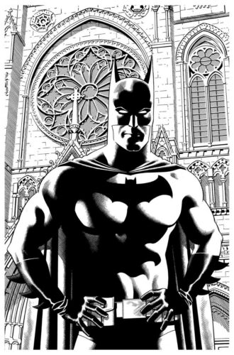 BATMAN original art