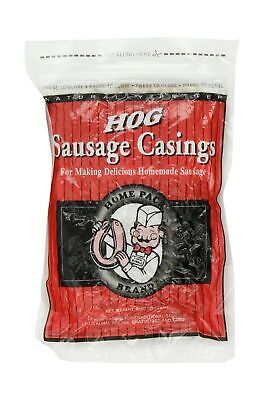 Dewied Natural Hog Casings For Making Delicious Homemade Sausage 32mm 8 Oz 1 Pck