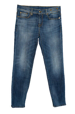 R13 Womens Relaxed Skinny Tapered Jeans Size 26 (Actual 30x28) Blue Medium Wash
