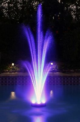 Floating LED Pool Pond Fountain  2 ...