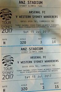 Arsenal tickets North Lakes Pine Rivers Area Preview