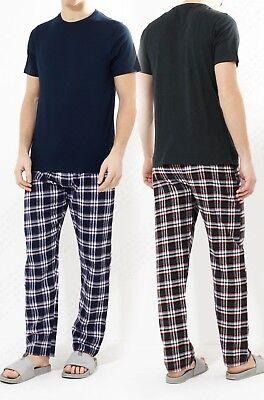 Klassischen Pyjama-top (Herren Pyjama Sets klassisch einfarbig Nachtwäsche Top Hose Freizeithose)